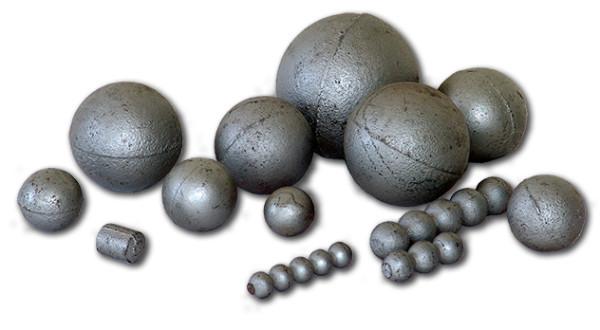 Фото литых шаров из чугуна