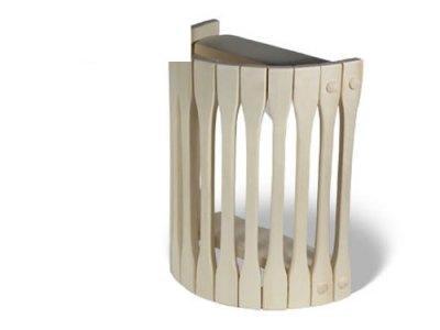 Фото настенного деревянного абажура