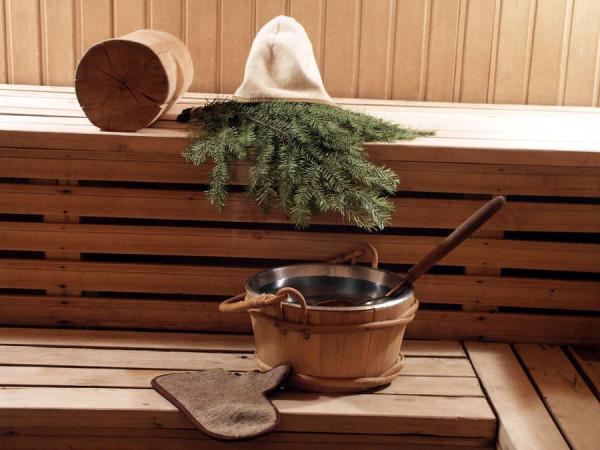 Фото: парилки в деревянной бане.