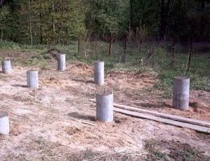 Фото процесса создания фундамента