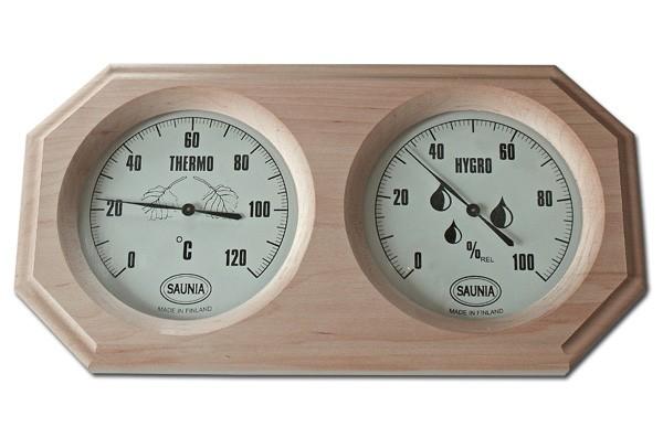 Фото термогигрометра который обязательно должен присутствовать в бане.