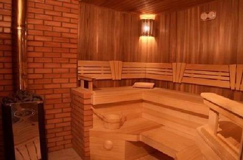 Фото внутреннего помещения бани
