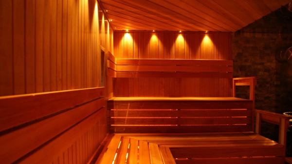 Фото внутренней отделки парной комнаты