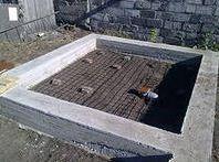 Фундамент под баню.