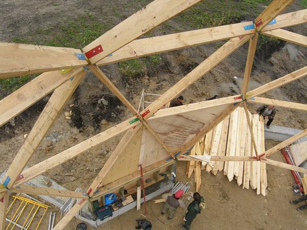 Геосота – основа конструкции геодезического купола.