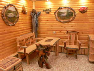 Грамотное и со вкусом выполненное обустройство помещения для отдыха сделают времяпровождение исключительно приятным
