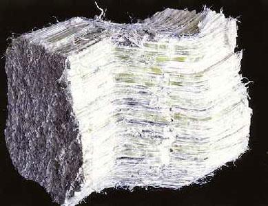 Характерные волокна асбеста легко могут оказаться в ваших легких.