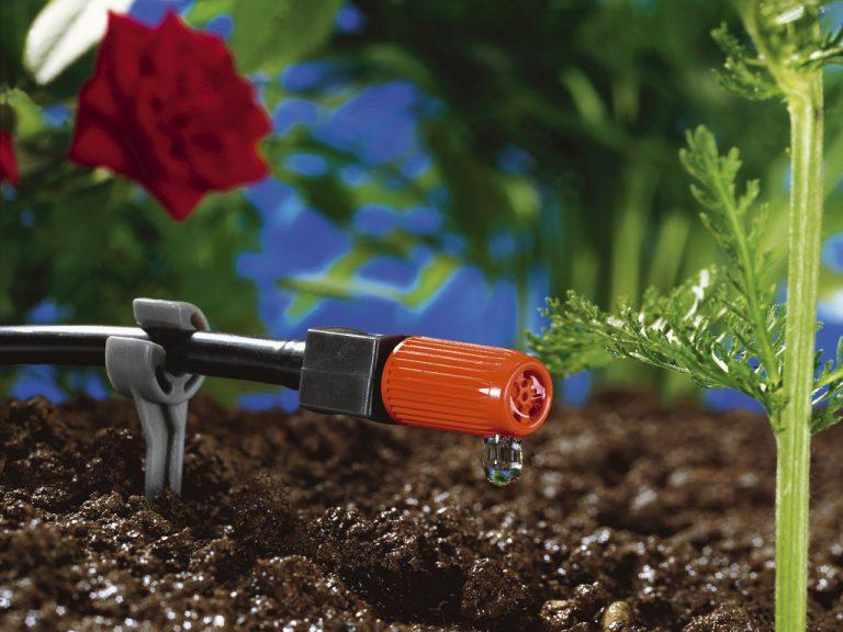 Капельный полив щадит почву от застоя влажности