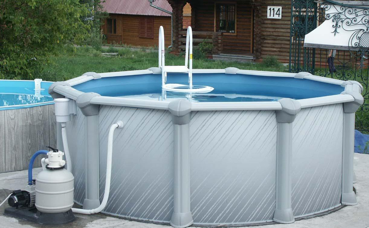 Сборно-разборный бассейн для бани