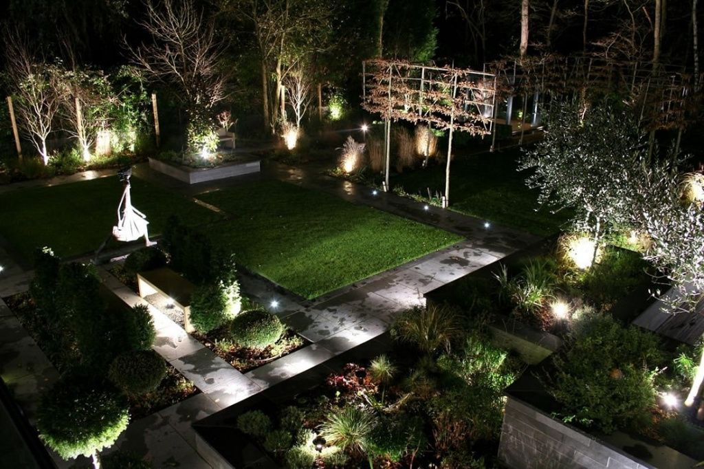Создаем современное освещение для дачного участка