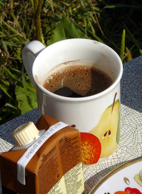 фото кофе на даче завернутые