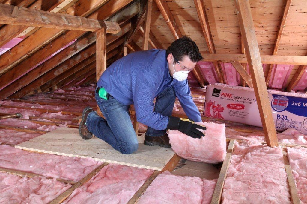Минвата — утеплитель для потолка на даче