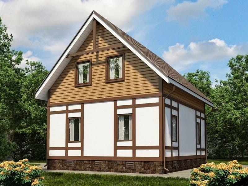 Деревянные наличники выделяют дом