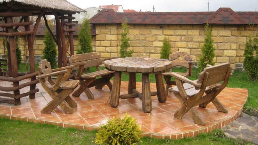 Садовая мебель для отдыха на даче