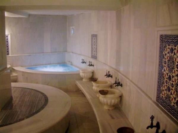 Интерьер турецкой бани.