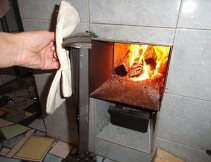 Использование дров для отопления