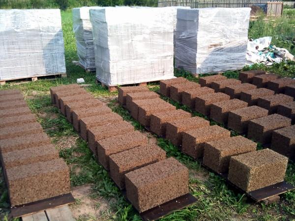 Изготовление блоков.