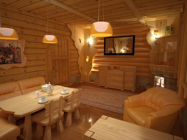 Качественно оборудованная баня