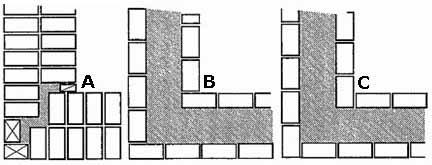 Как бы вы не решили вопрос, из какого кирпича строить баню, наличие заранее подготовленных порядовок значительно упрощает и ускоряет весь ход работ (см. описание в тексте)