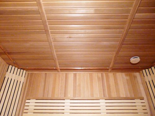 как сделать в бане потолок
