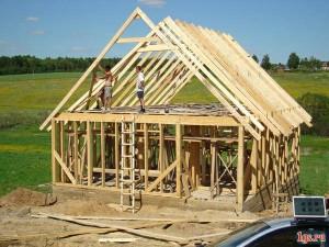 Каркасная баня с мансардой – построить несложно