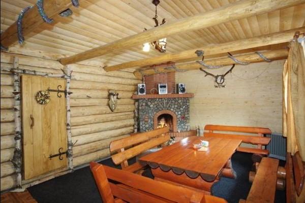 Комната отдыха предназначена для чаепитий в перерывах между заходами в парную.