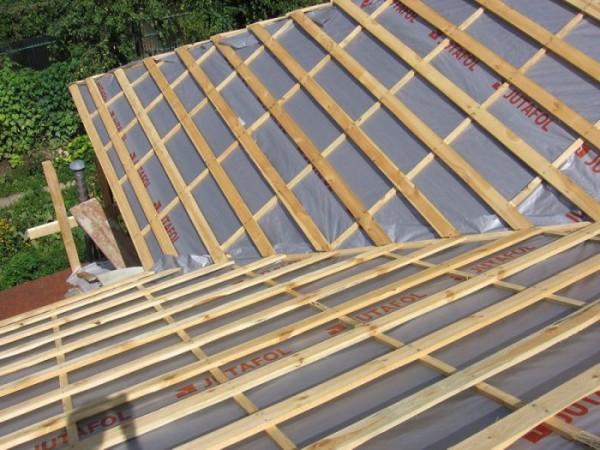 Крыша перед монтажом металлочерепицы