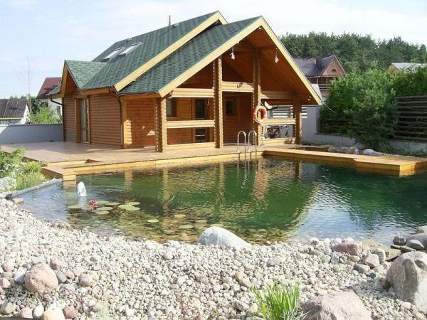 Лучше место для частной бани не найти!