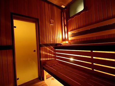 Матовые двери в парную комнату