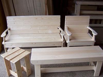 Мебель, сделанная самостоятельно.