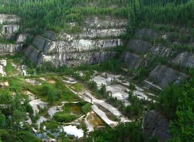 Место добычи мыльного камня