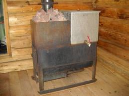 Модель с водонагревателем