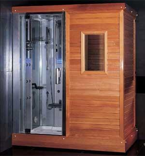 Модель, в которой и внешняя отделка выполнена из дерева