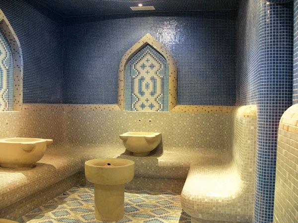На фото – роскошный турецкий «Хамам»