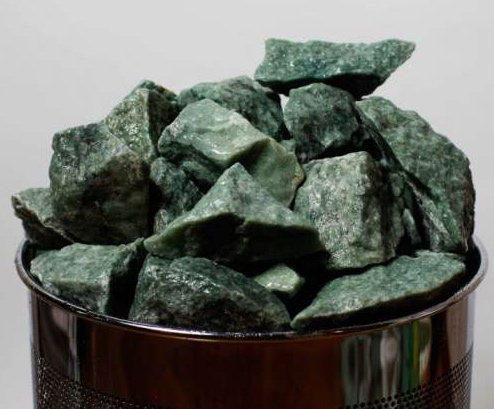 Нефритовая (жадеитовая) каменка