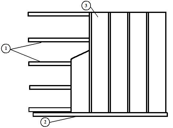 Опорная конструкция и элементы отделки.