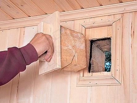 Организация вентиляции в бане – залог сухости в доме