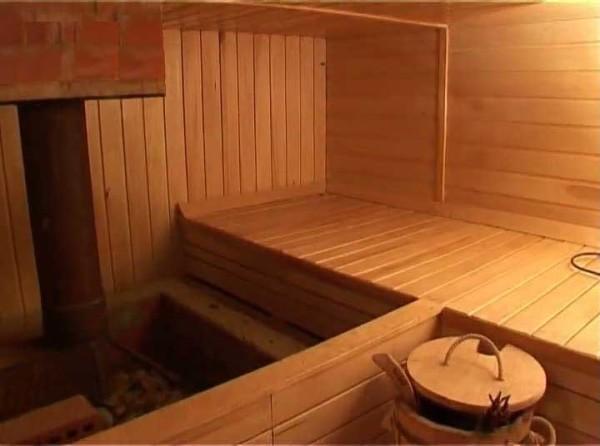 Парильная комната в бане