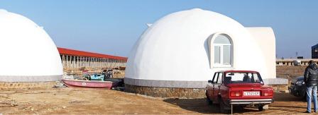 Пенополистирольный купол.