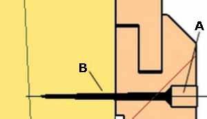 Первый способ крепления вагонки – привычные штифты и шурупы (см. описание в тексте)