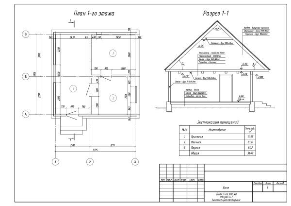 План строения