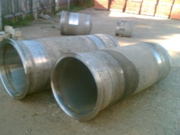 Подходящие трубы для создания банной печи.
