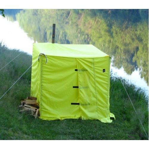 Походная баня в палатке.