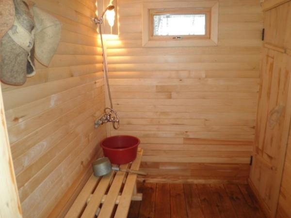 Помыться в бане приятнее, чем в обычной ванной комнате