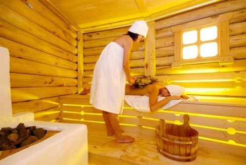 Посещение бани улучшает кожу