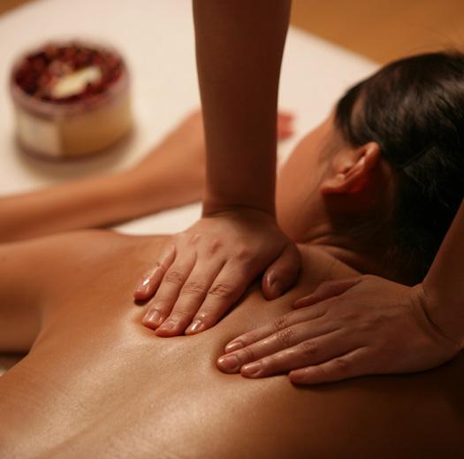 После сауны или парной неплохо бы провести сеанс массажа