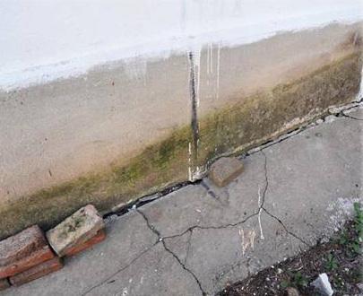 Последствия морозного пучения