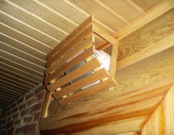 Пример деревянной обрешётки