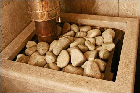 Пример уложенных камней