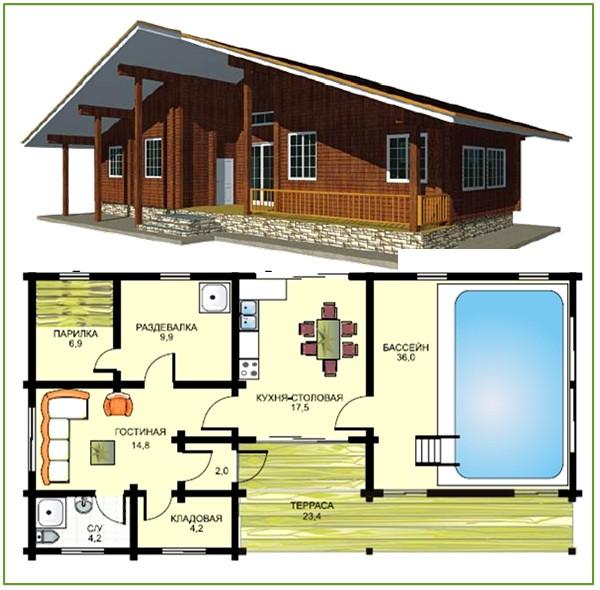 Проекты банного комплекса имеют абсолютно всё для полноценного качественного отдыха